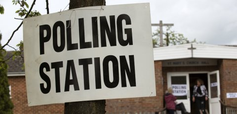 Cheshire East Borough Polling Station